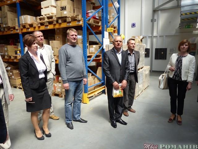 Екскурсія на підприємство, що здійснює постачання комплектуючих частин до техніки