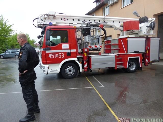 Пожежна частина в м. Кольбушово